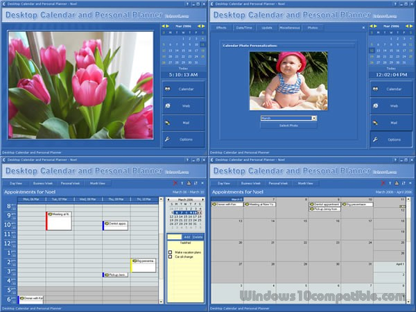 Desktop Calendar And Personal Planner  Free Download